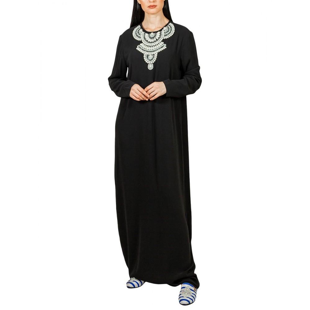 PEARL DRESS (BLACK)